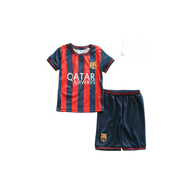 Kids Child Boys Summer Football Basketball Sports Tshirt+Shorts Sets Clothing Infant Toddler Boys Casual Striped Tracksuit Sets