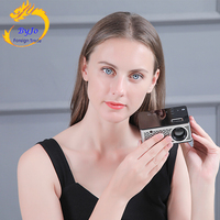 UNIC T200 LED Portable Pocket Projector Support AV TF Card USB HDMI 5V 2A Power in Piano lacquer Touch button