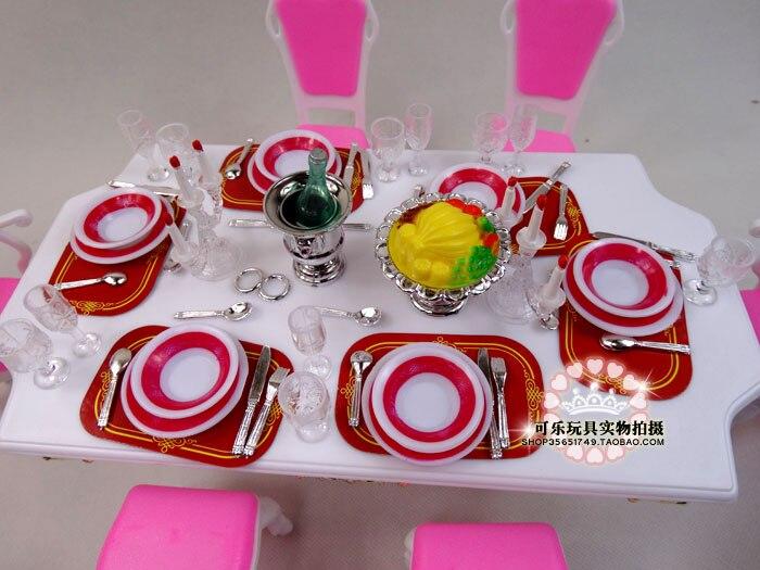 sala jantar para boneca barbie 1 03