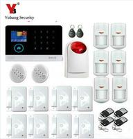 Yobang Security WIFI GSM APP Control Alarmes Strobe Siren Intelligent Alarm Kits Home Alert Infrared Motion Detection Sensor