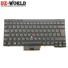 ORIGINAL NEW For Thinkpad T430 T430i X230 X230i X230T T430S W530 T530 Laptop Keyboard with Backlit big US Black free shipping