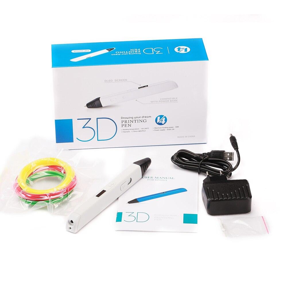 RP800A 3D Professionnel Impression 3D Stylo avec ÉCRAN OLED Génération 3D stylo de dessin pour Griffonner Artisanat D'art ou de L'éducation - 6