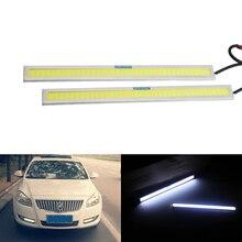 ANGRONG 2X17 см 6 Вт 6000 К высокое Мощность светодиодный удара полосы света автомобилей украшения дома Белый лампы DRL свет DC 12 В