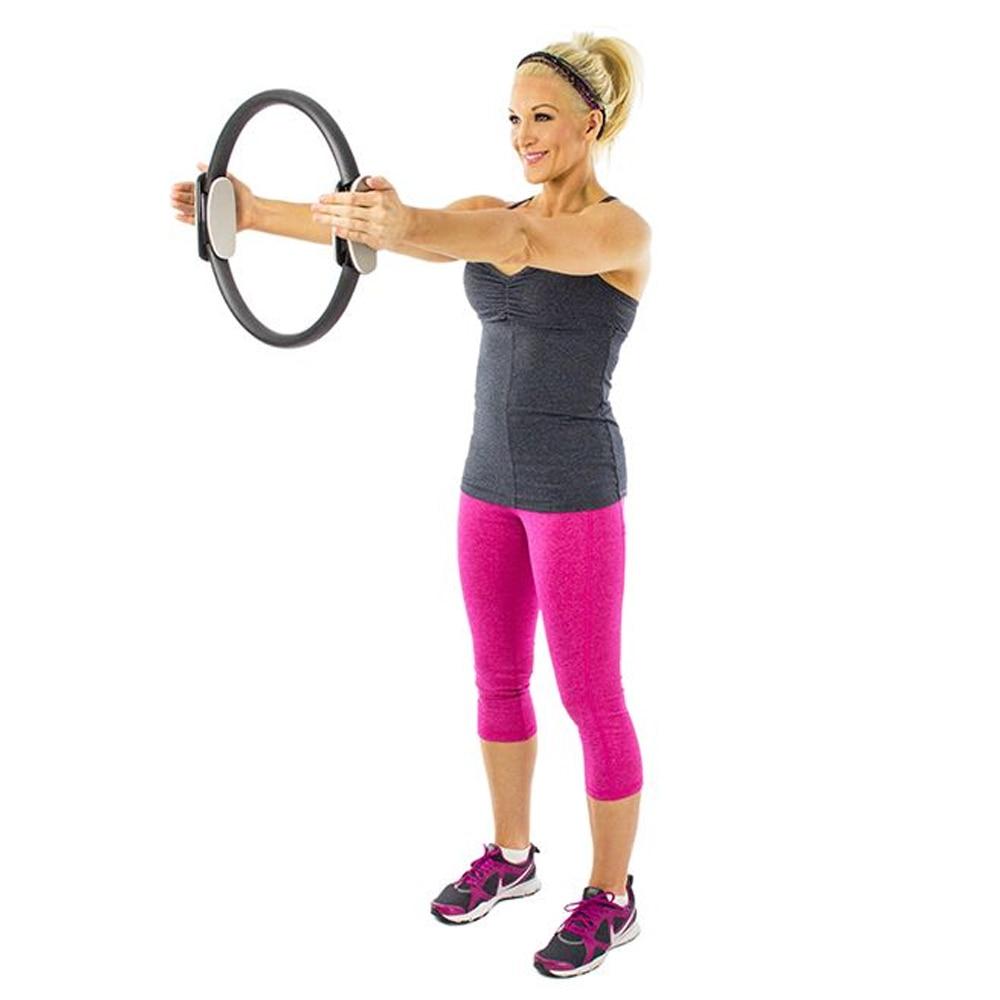 yoga krugovi prsten fitness pilate prsten pilates magija fitness - Fitness i bodybuilding - Foto 5