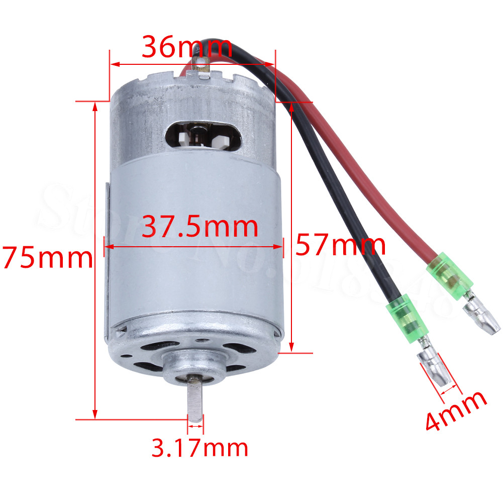 RS550 HSP 03011 26 Turn Brushed Electric Engine 550 Motors Upgraded RS540 Powerful For RC 1/10 Model Car