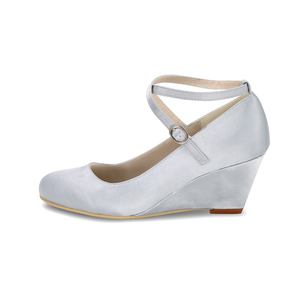 line Shop Creativesugar Elegant lady s wedges crossed strap