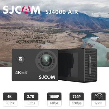 "100% Original SJCAM SJ4000 AIR Action Camera Full HD Allwinner 4K 30FPS WIFI 2.0"" Screen Mini Helmet Waterproof Sports DV Camera 1"