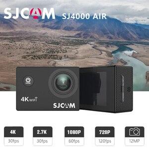 "Image 2 - Original SJCAM SJ4000 AIR Action Camera Full HD Allwinner 4K 30FPS WIFI 2.0"" Screen Mini Helmet Waterproof Sports DV Camera"