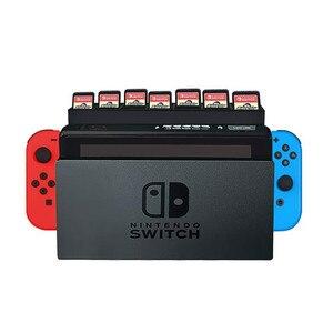 Image 2 - เกม nintendo Switch Card กล่องใส่ 28 ช่องเสียบการ์ดเกมสำหรับ Nintendos Switch Docking Collection