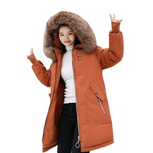 Plus size Winter Women Jacket Long Thick Parka Jacket Big Fur Hooded Winter Coat Warm Down Cotton Jackets Women jaqueta feminina bfh fashion charm large circle tassel drop earrings for women girl wedding party bohemian long earring jewelry gift wholesale