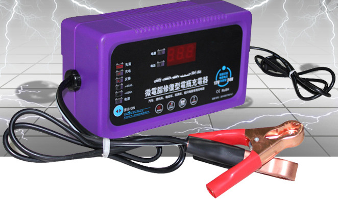 NEW !Full Automatic Car Battery Charger Battery Charger 12V24V Truck Motorcycle Charger Motorcycle Battery Charger