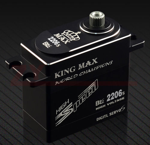 BLS2206 69g FULL CNC ALUMINIUM STANDARD DIGITA LBRUSHLESS SERVO FOR RC CAR PLANE