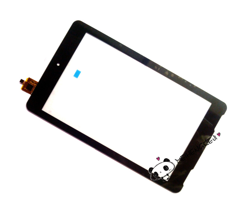 New 7 Inch Digitizer Front Touch Screen Glass Replacement  For Exeq P-742 / Explay Surfer 7.03 IC:FT5306DE4 original touch screen digitizer for ipad mini2 white black new tp ic replacement glass screen