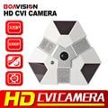 Boavision fisheye hd cvi câmera de 2mp 1080 p hdcvi, ir-cut, ir 10 m, 360 Graus Vista Panorâmica de Cúpula Câmera HDCVI 720 P