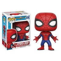 FUNKO POP Hot Toys Marvel Spider Man: Homecoming Vinyl Action Figure Collection Model toys for Children Christmas gift