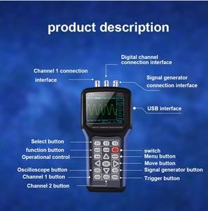 Image 4 - Portable Handheld Oscilloscope  Jinhan JDS2023 Digital Storagesignal function generator 20MHz oscilloscope AC/DC Input coupling