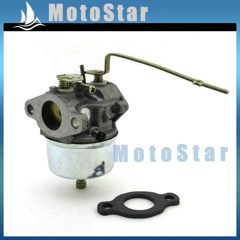 US $13 64 30% OFF Go Kart Carburetor For Tecumseh Carb H30 H35 H50 Vintage  Mini Bike Snow Blowers Pressure Washer 632615 632208 632589-in Fuel Tank