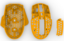 E-Sports Game Logitech G304 G305 DIY Mouse MOD Light 63g Hollow Out Case WithSidebar Shell For WMO Finalmouse Ultralight Phantom