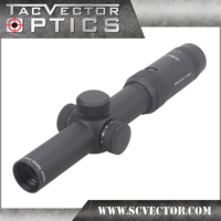 Vector Optics Forester 1 5x24 Hunting Riflescope 100mm Long Eye Relief Rifle Scope Zero Eleven Levels