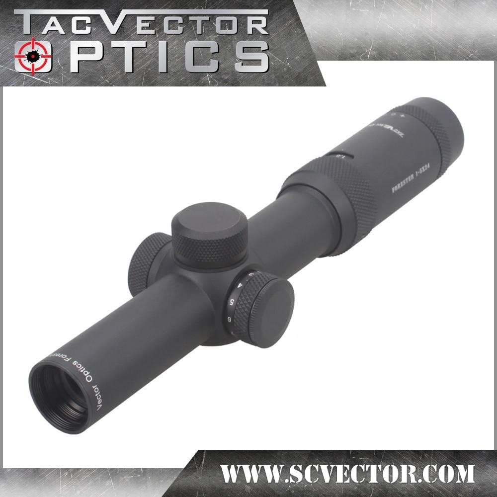 Вектор Оптика Forester 1 5X24 ИК прицел супер яркий ясно Edgeless изображения высокого Quingity 30 мм Rilfescope для охоты стрелять
