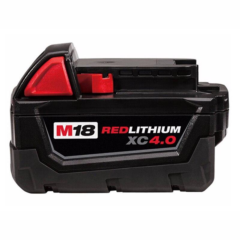Мощность инструмент Батарея 18 В красный литиевая высокий спрос 4.0Ah Перезаряжаемые Батарея для Милуоки 48-11-1890 M18 инструмент замены Батарея