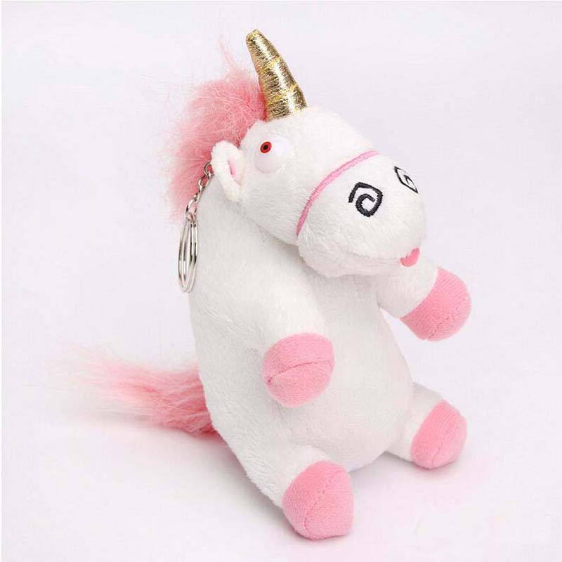 4 Size Fluffy Unicorn Juguetes Brinquedos Soft Stuffed Plush Toy Cushion Gift For Kids Free Shipping 7inch free shipping stiched stuffed animalsl christmas gift the pendant goods for creativity brinquedos kids