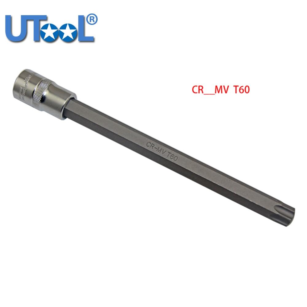 """Angemessen Neue T60 Buchse 1/2 """"stick Torx Stern Extra Lange 200mm Zylinderkopf Bolt Sockel Für Bmw (manipulationssichere) Mild And Mellow"""