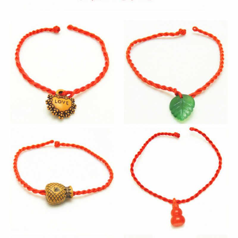 Sale 2019 Thời Trang sỉ nhiều phong cách Sợi Chỉ Đỏ Dây Vòng Tay May Mắn Dây Vòng Tay dành cho Nữ Người Yêu Cặp Đôi Quà Tặng
