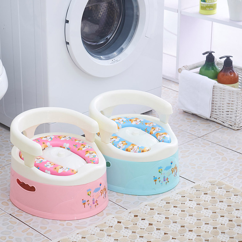 High Quality Baby Potty Toilet , Soft Children Toilet Baby Potty , Baby Toilet Potties For 0-4Years Old For Free Potty Brush
