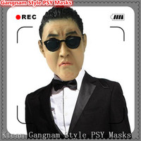 Free shipping Halloween Party Cosplay Hot Gangnam Style PSY Masks Cosplay Custom Halloween Party Face Mask for Men and Women Toy