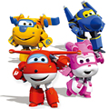 1 pcs / lot 15cm ABS Super Wings Deformation Airplane Robot Action Figures Super Wing Transformation toys for children gift