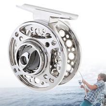 Full Metal Die Casting 60# 2+1BB 1:1 Fly Fishing Reel Tackle Raft Ice