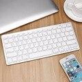Супер тонкая беспроводная клавиатура Bluetooth для Air  ipad Mini  Mac  компьютера  ПК  Macbook  peomotion  горячая Распродажа
