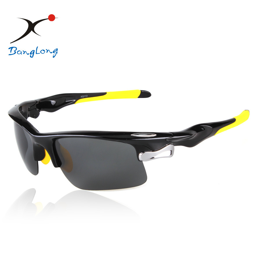 34f32d7ae6f81 Quente do Lado o Envio Gratuito de Venda de Fora Pesca Ciclismo Espelhado  Óculos Lente Polarizada Sol do Esporte Eyewear Mulheres Homem Óculos