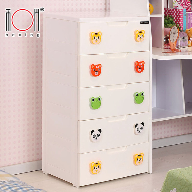 Special Children Drawer Storage Cabinets Lockers Large Plastic Baby Clothes  Sorting Clothes Thick Baby Cabinet