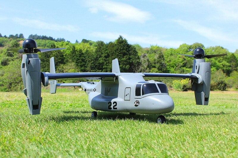 Rc 비행기 모델 v22 V 22 수직 이륙 및 착륙 vtol pnp 키트-에서RC 비행기부터 완구 & 취미 의  그룹 1