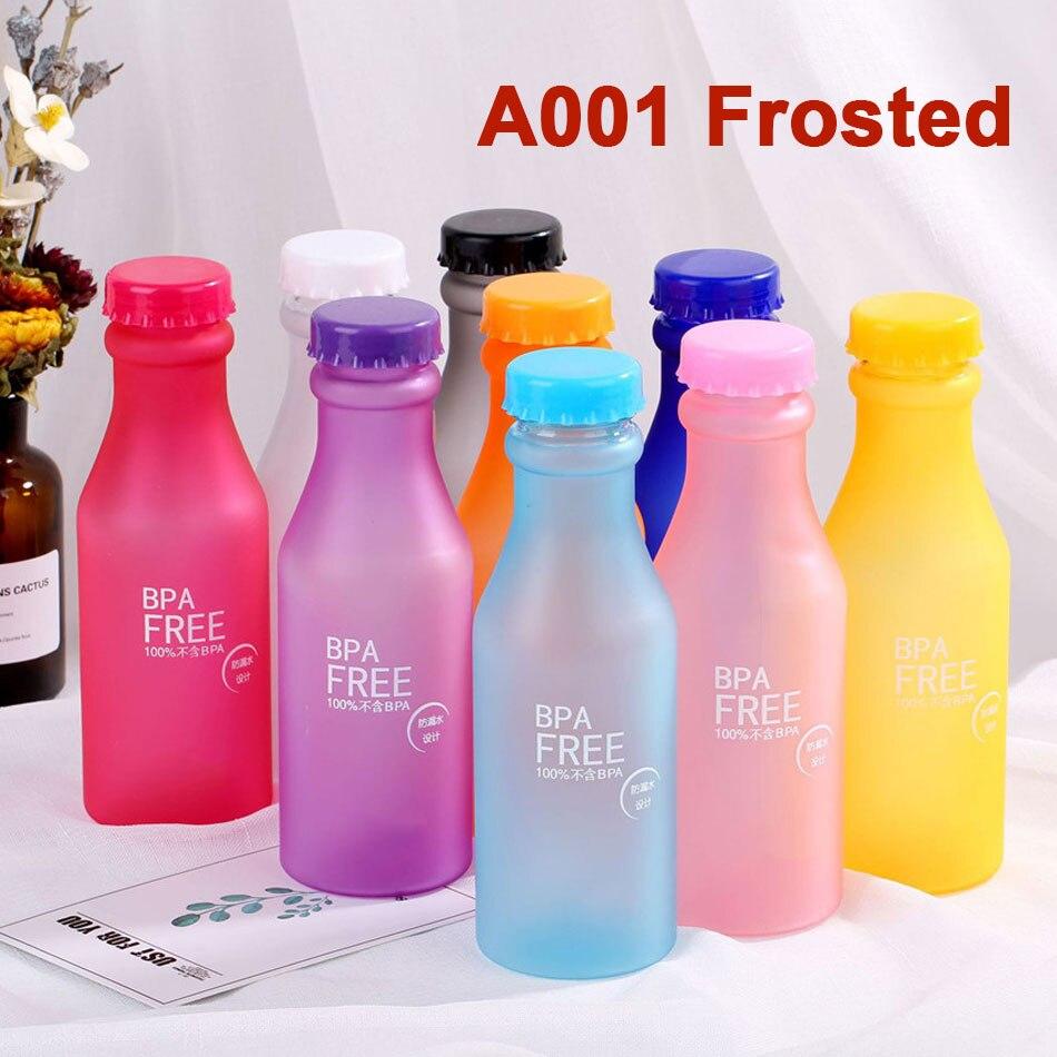 VOGVIGO Style High Quality Portable 550ml Unbreakable Plastic Sports Water Bottle Leak-proof BPA Free Bottle35-40