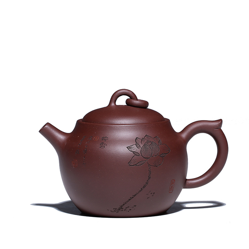 300ml Yixing All Handmade Purple Clay Teapot Chinese Kung Fu Black Tea Gift Authentic Famous Zisha Tea Pot Free Shipping300ml Yixing All Handmade Purple Clay Teapot Chinese Kung Fu Black Tea Gift Authentic Famous Zisha Tea Pot Free Shipping