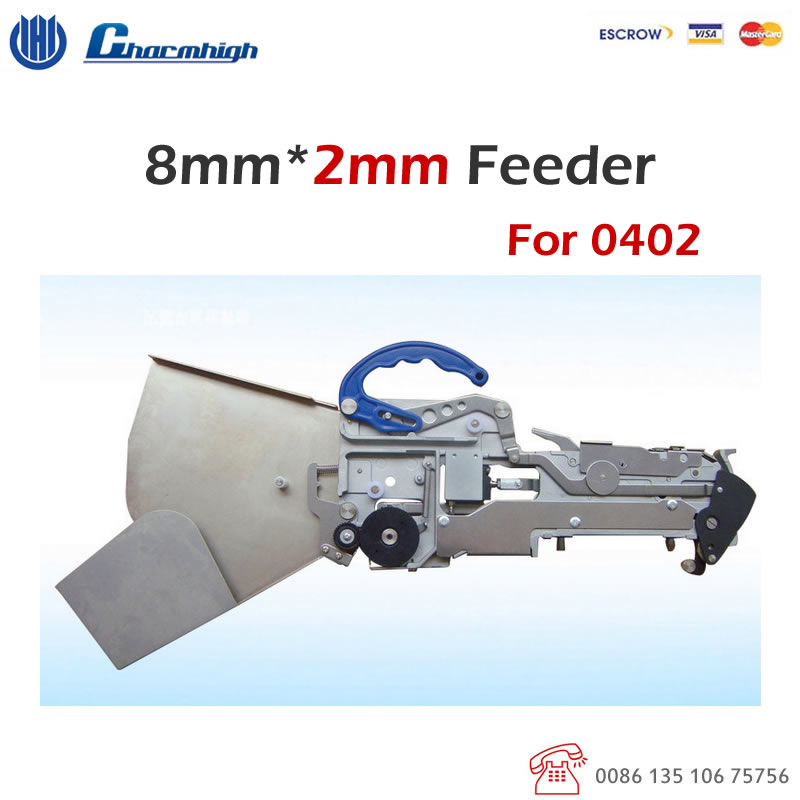 Standard Yamaha Pneumatic CL Feeder 8mm 2mm only for 0402 for SMD SMT Pick and Place