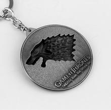 Game of Thrones Winter Is Coming Keychain