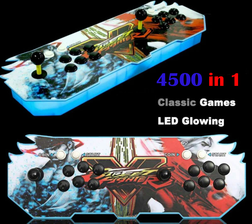 Pandora Box 5 960 in 1 games joystick arcade 2 players console KOF Stickers  Video game HDMI/VGA Video output For TV / PC