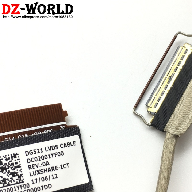 Lenovo Ideapad 330-15IGM 330-15IKB LCD Display DG521 LVDS Cable DC02001YF10