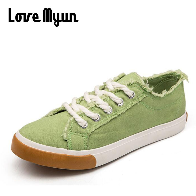 Girl Canvas Fashion Casual Low Classic Sneakers lover Female Shoes 2018 women Breathable Classic Canvas Casual shoes HH-577 fashion boutique huanqiu fashion women canvas shoes low breathable women sneakers solid color flat shoes casual candy colors l