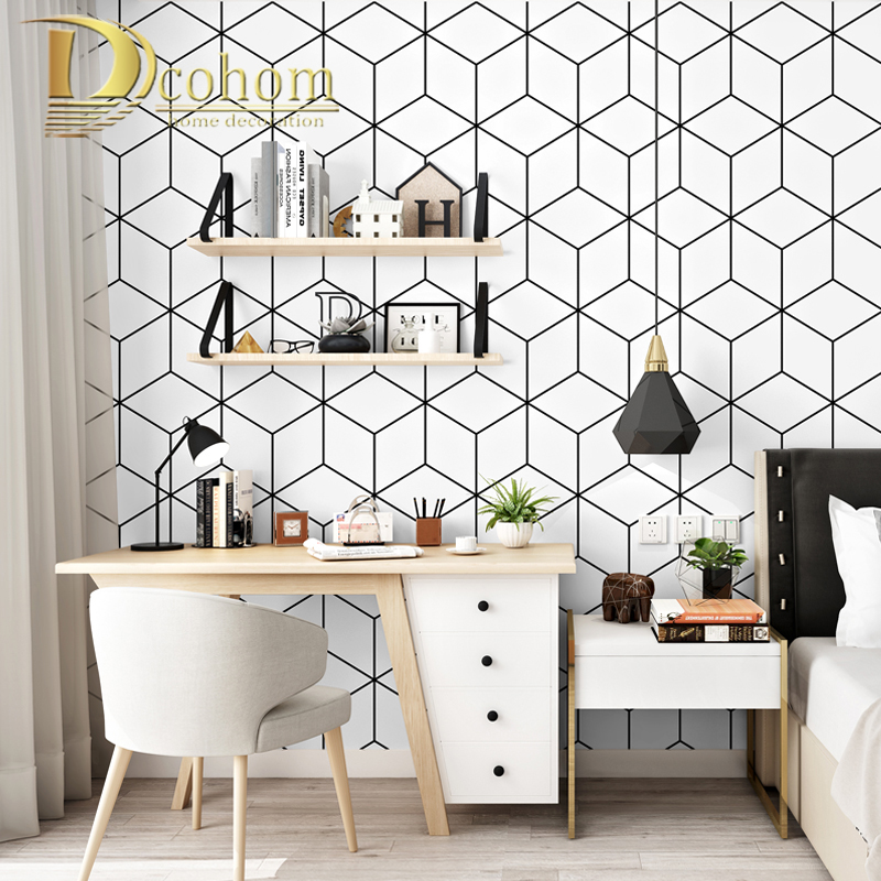 geometric desk triangle living minimalism bedroom nordic decoration dormitory student computer strip bedding