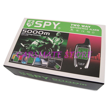 SPY 2 Way Motorcycle Alarm System LM209 with Proximity Sensor & LED Indicator Super Long Monitoring for 12V Motorbikes Carsmate