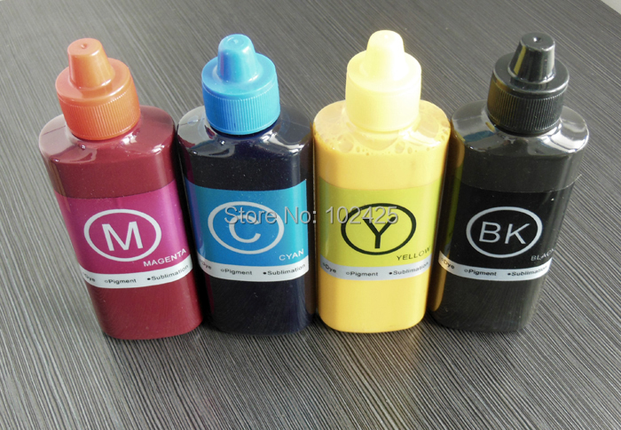 ФОТО 1Set Sublimation Ink For Ricoh GC31 Printer Ink 100ML for Ricoh e2600,e3300,e3300N,e3350N,e5050N,e5500,e5550N,e7700