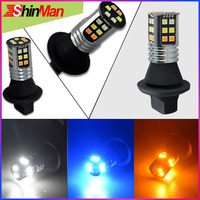 ShinMan New Power 3Colors 3030 smd Car LED Daytime Running Lights & Night light &Front Turn Signals light For Toyota