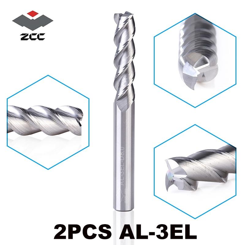 ZCC.CT GM-4E-D6.0 4Flute VHM Diameter 6mm End mill Carbide Milling Cutter 6Pcs
