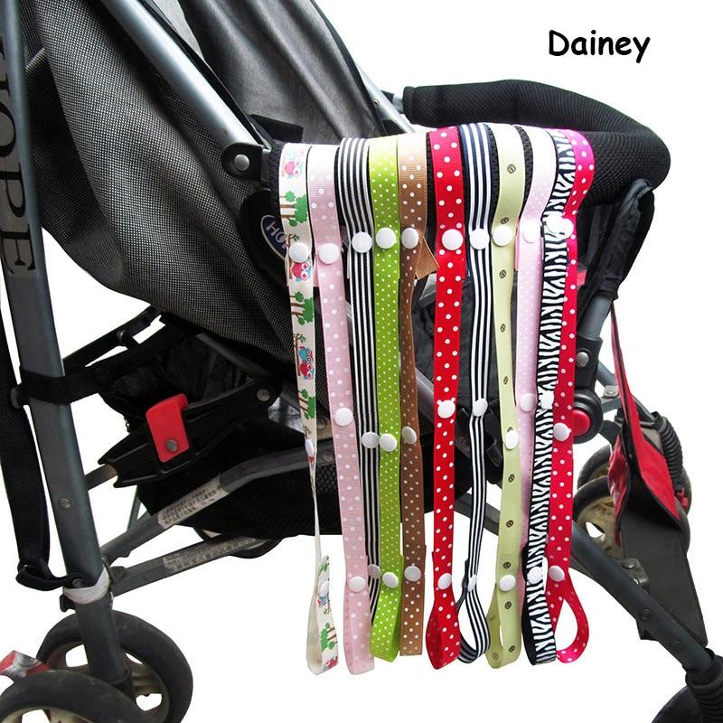 2016 Pacifier Chain Stroller Accessory Strap HolderToys Saver Fixed Bind Belt Toy Baby Anti-Drop Hanger Belt Lanyard Car Seat