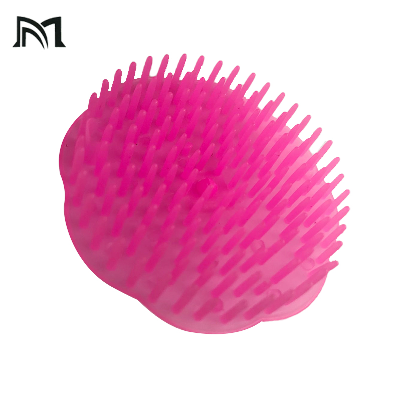 Hairstyle Combing Tool Drop-Shipping  Elastichair Brush Massage Plastic Comb Portable Mini Barber Hairbrush Pink Hairdressing